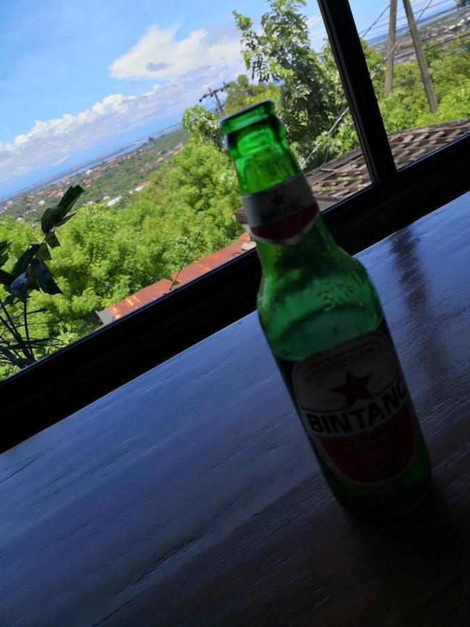 バリ島のビンタンビール