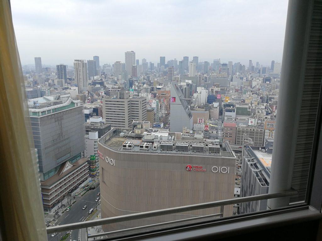 スイスホテル南海大阪部屋の様子3