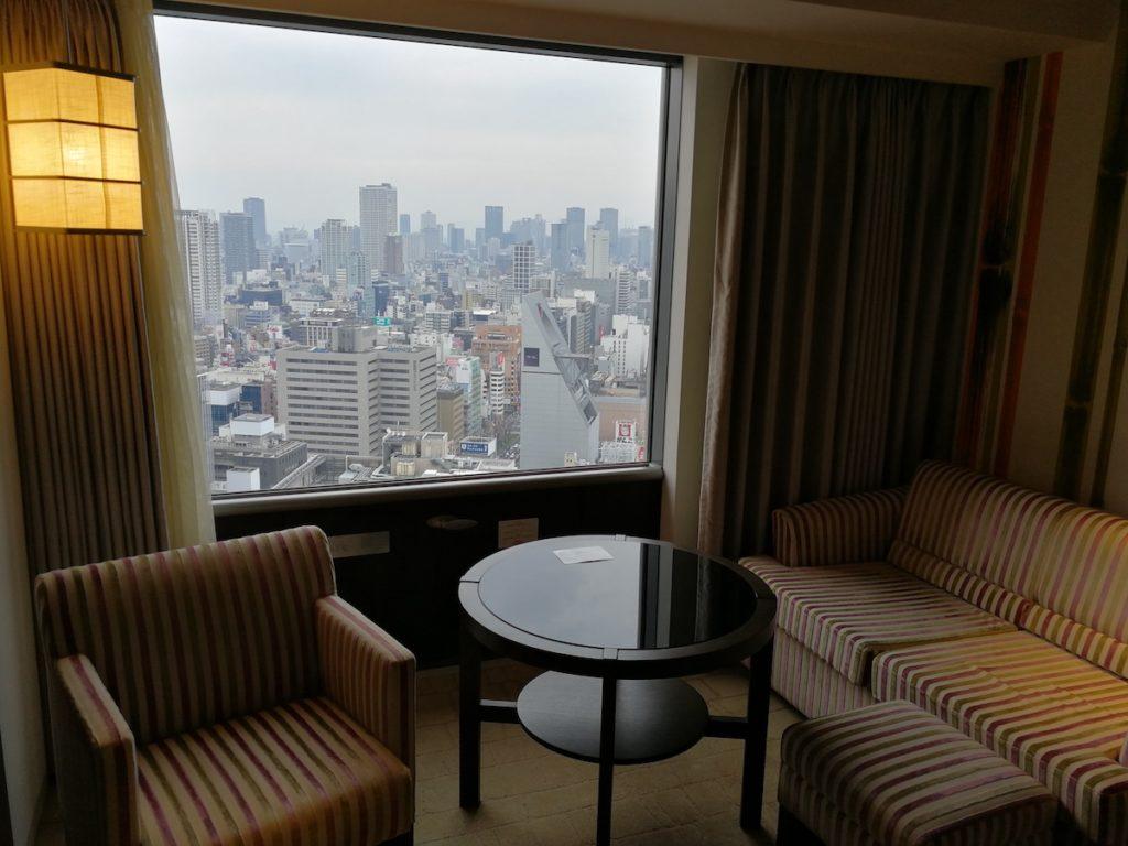 スイスホテル南海大阪部屋の様子2