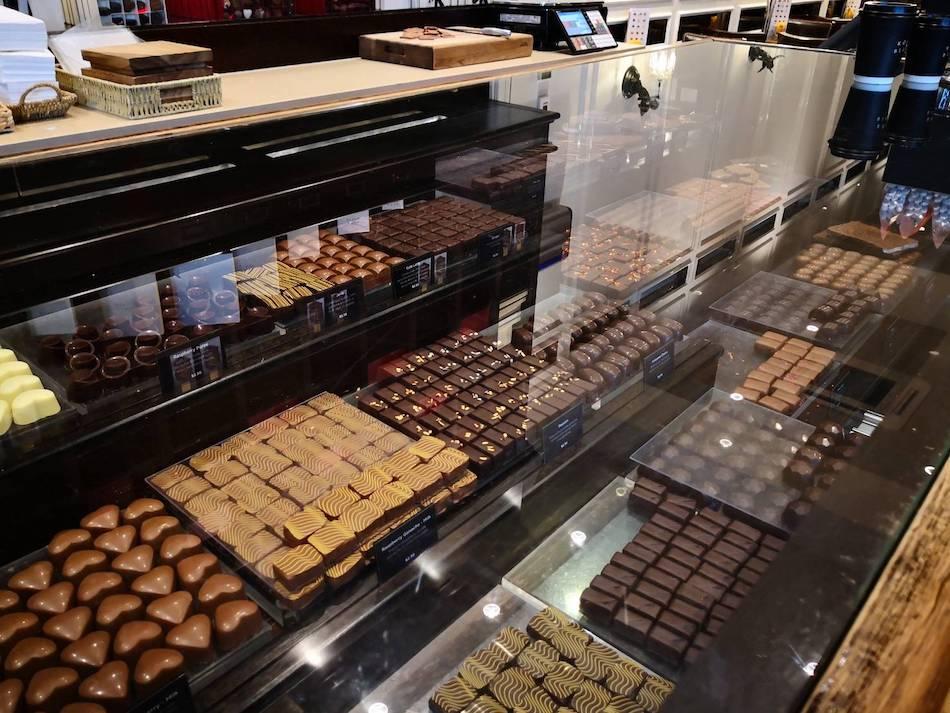 ココブラック店内で売られているチョコレート1