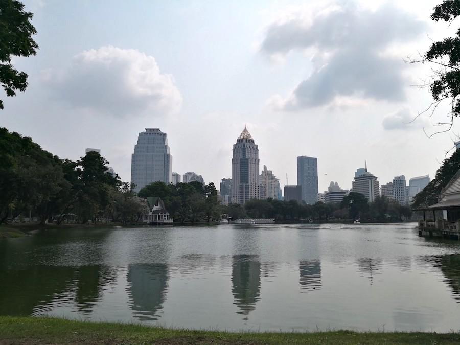 バンコクのルンピニー公園1