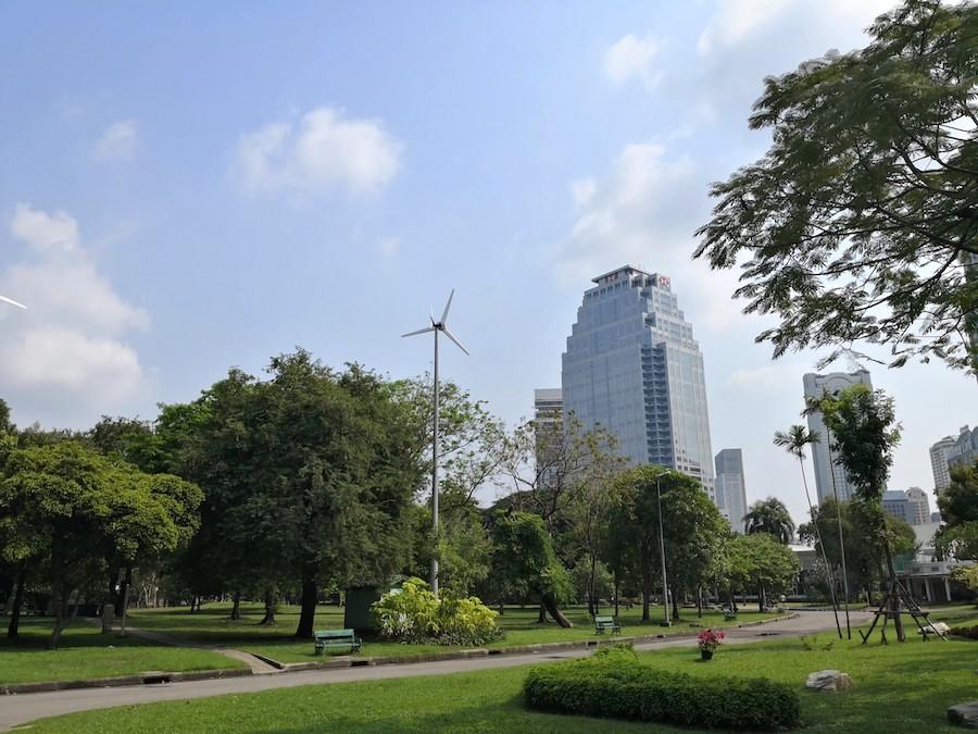 バンコクのルンピニー公園5