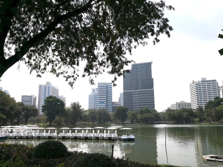 バンコクのルンピニー公園2