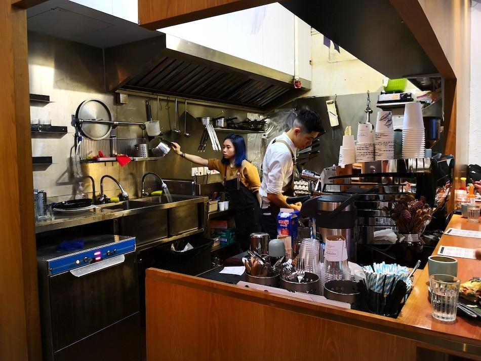 香港のカッピングルームの店内の様子4