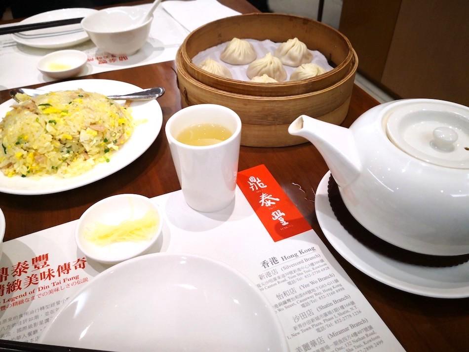 香港の鼎泰豊の料理の様子1