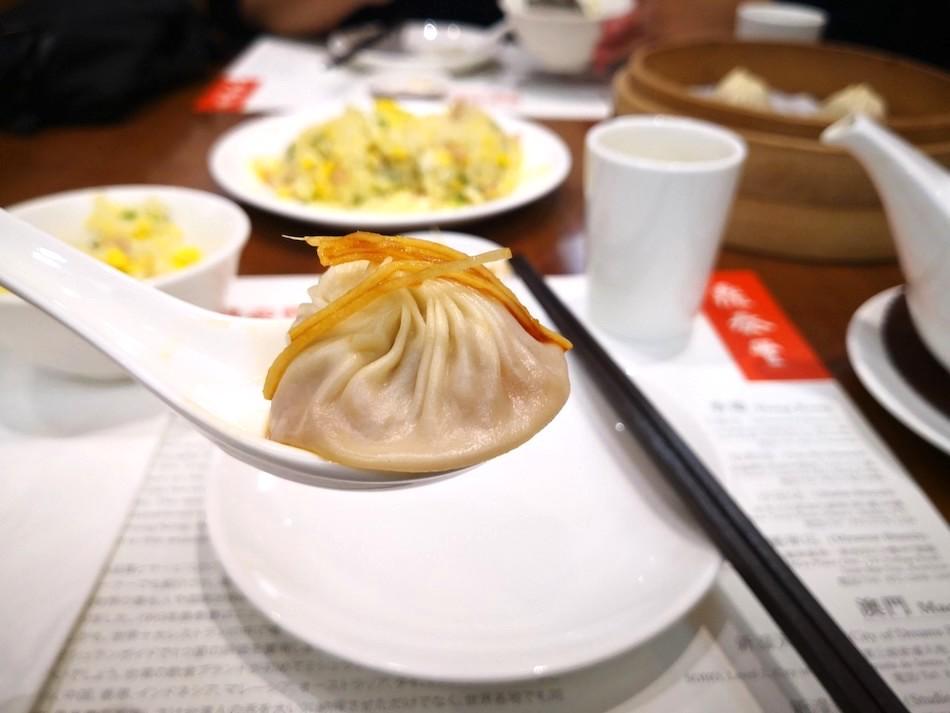 香港の鼎泰豊の料理の様子2