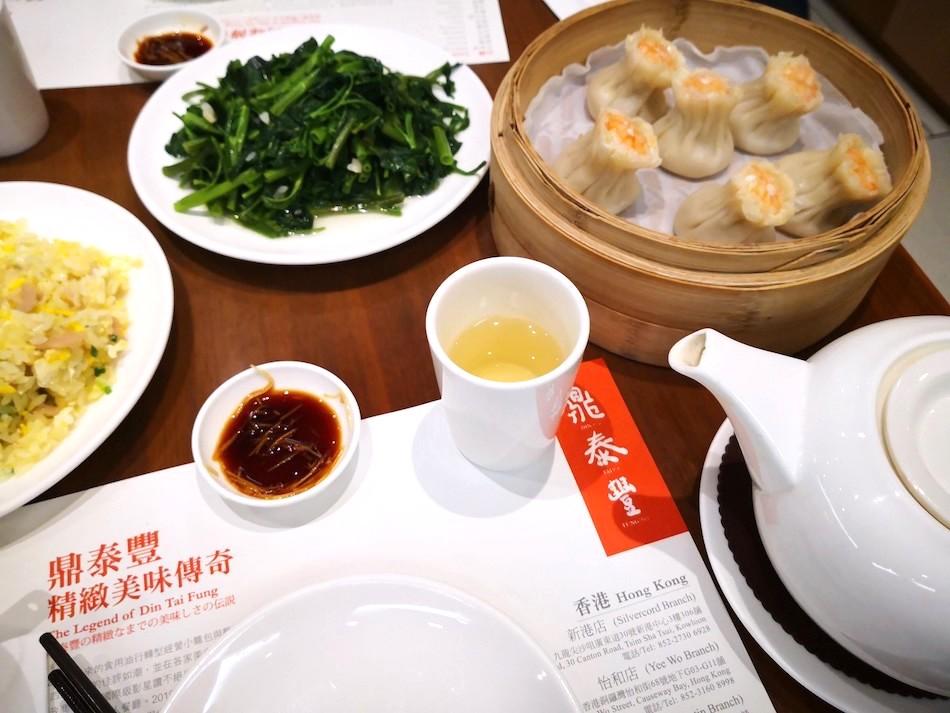 香港の鼎泰豊の料理の様子4