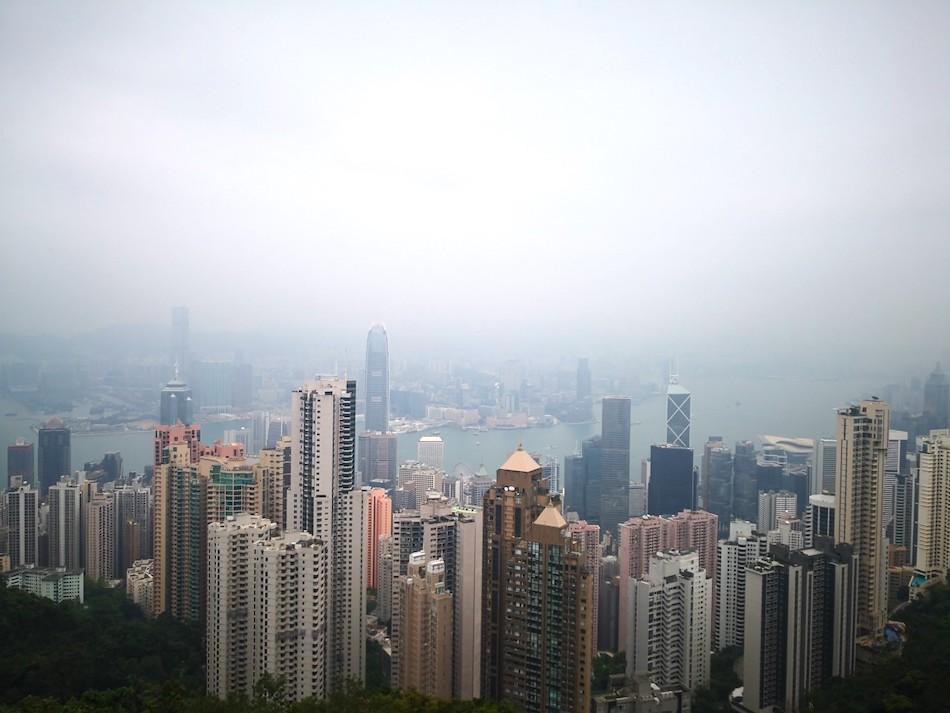 香港ビクトリアピークの撮影スポットの様子4