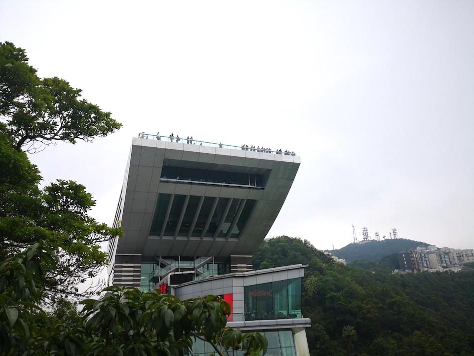 香港ビクトリア・ピークのスカイテラス428