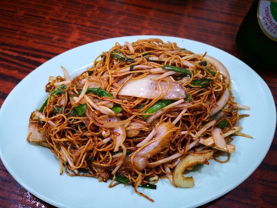 香港男人街のTong Tai Seafoodレストランの様子6