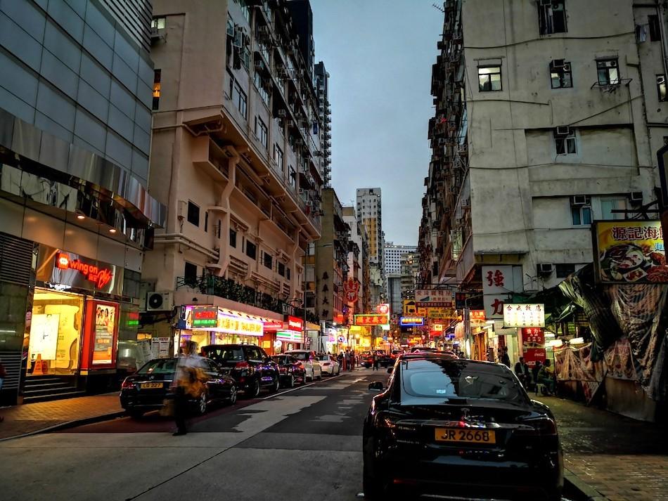 香港男人街の中の様子4