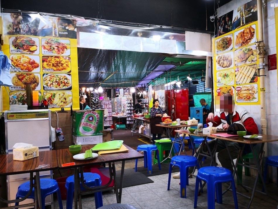 香港男人街のTong Tai Seafoodレストランの様子2