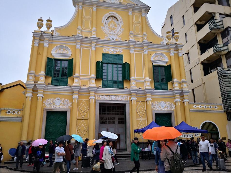 聖ドミニコ教会の建物
