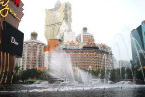 ウィン・マカオの噴水ショー
