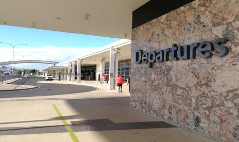 ケアンズ空港の国内線ターミナル