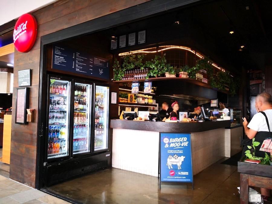 オーストラリアのハンバーガー屋グリルド