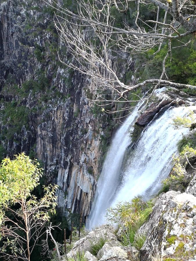 ナイトカップ国立公園のミニヨン滝(minyon falls)