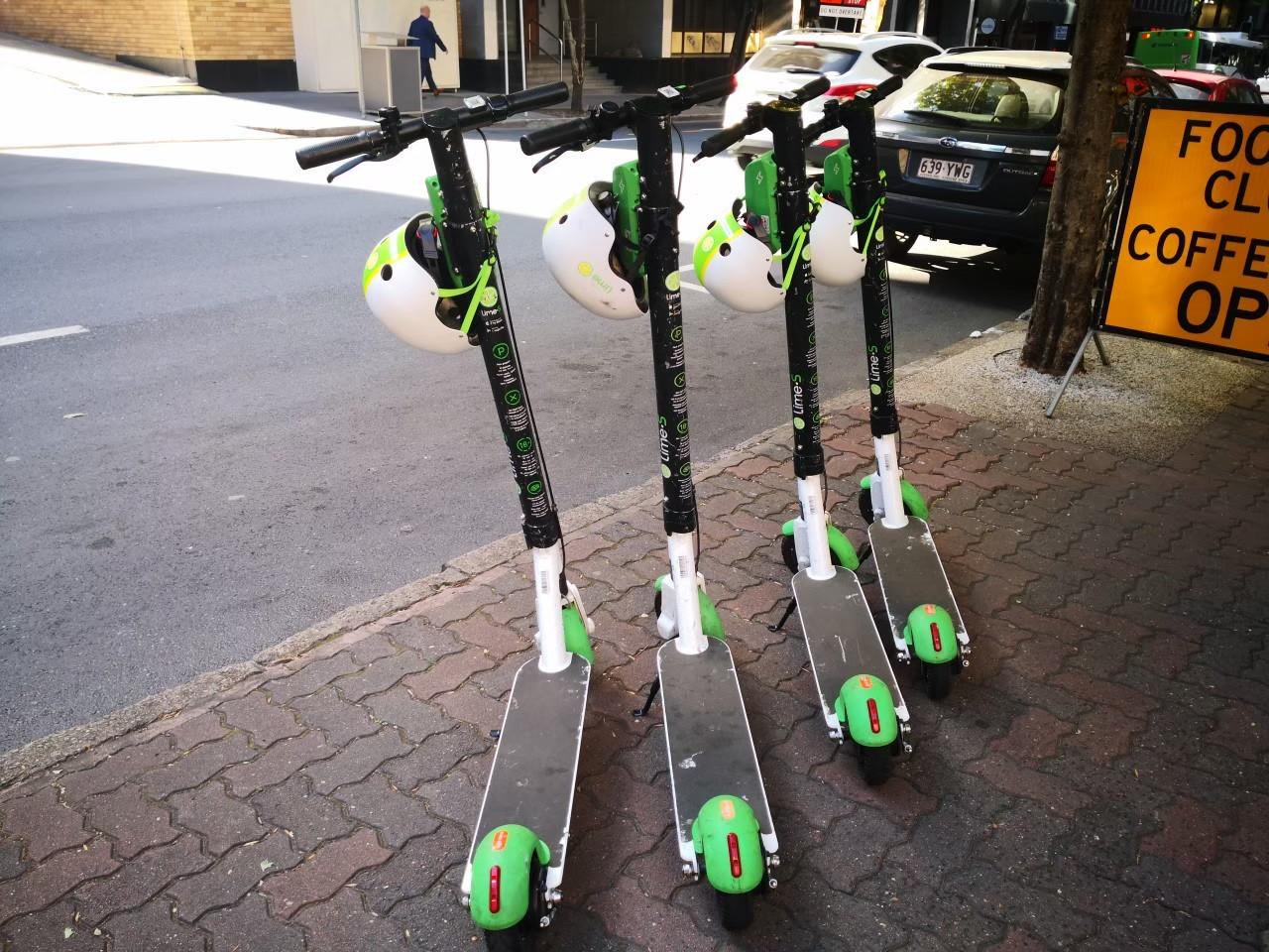 ブリスベンの電動スクーター