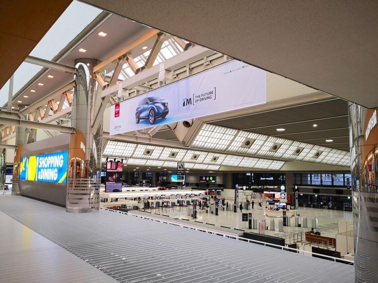 コロナの影響の成田空港の様子